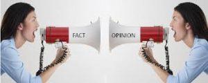 Opinion vs Fact